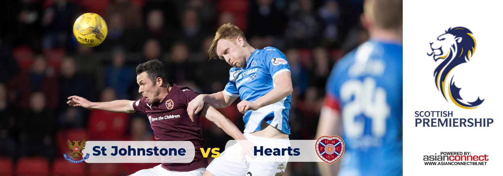 Asianconnect: St Johnstone vs Hearts Odds for February 01, 2020
