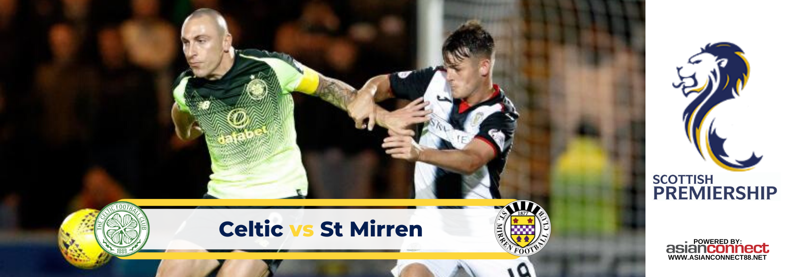 Asianconnect: Celtic vs St Mirren Odds for March 07, 2020