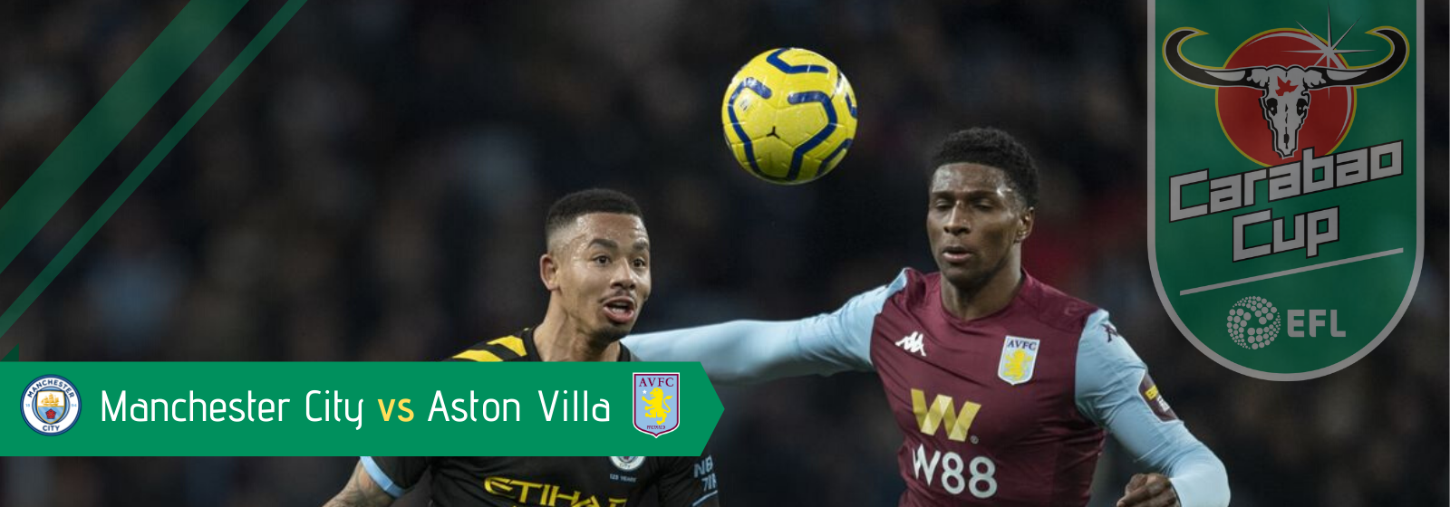 Asianconnect: Manchester City vs Aston Villa Odds for March 01, 2020
