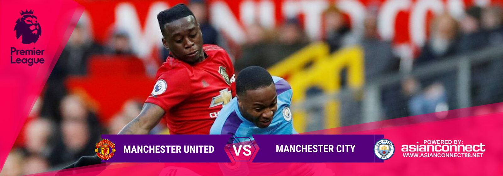 Asianconnect: Manchester United vs Manchester City Odds for March 08, 2020