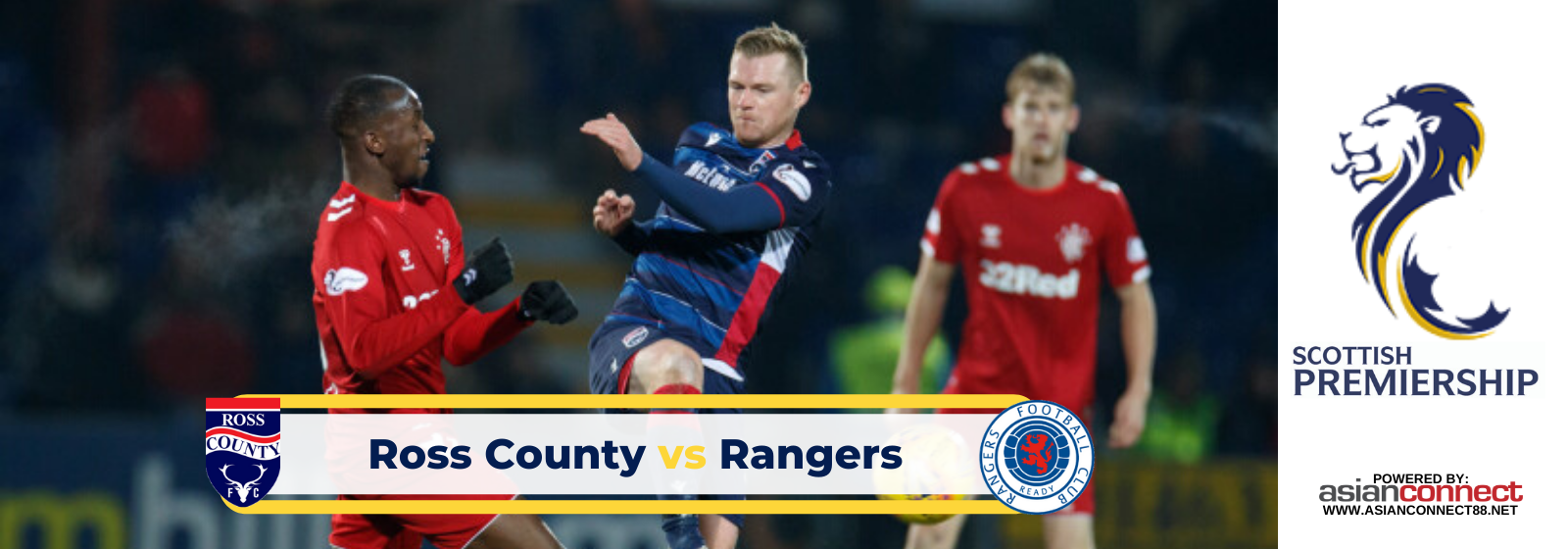 Asianconnect: Ross County vs Rangers Odds for March 08, 2020